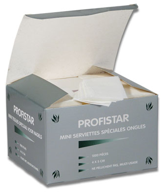 Nail Wipes Profistar 1000st