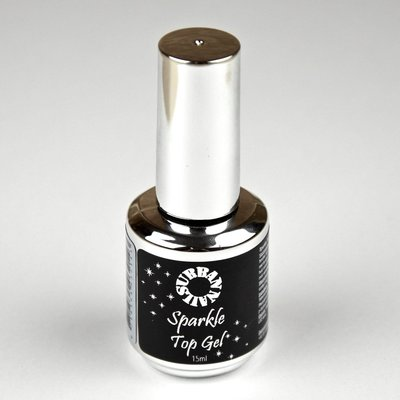 Urban Nails Sparkle Top Gel Zilver