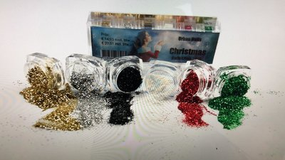 URBAN NAILS CHRISTMAS GLITTER COLLECTION