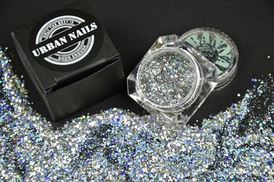 Urban Nails Silver Star