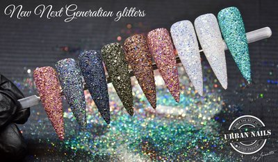 Workshop Glitter/Folie/Pigmenten 5 mei 2018